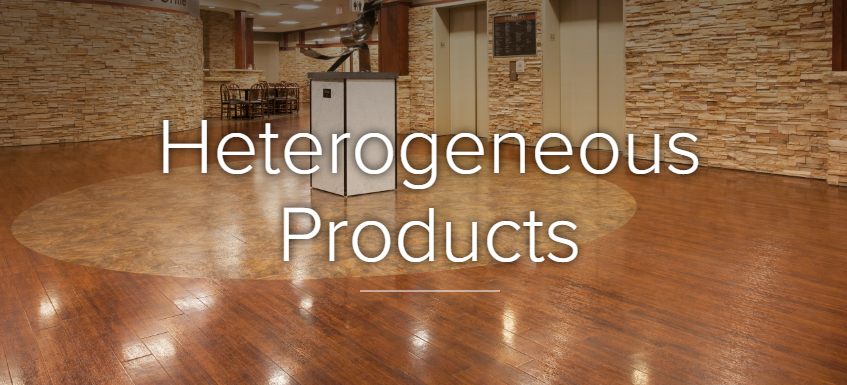 Heterogeneous Products